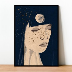 Plakat MOON GIRL