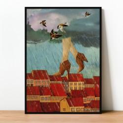 Plakat/kolaż OCTOBER
