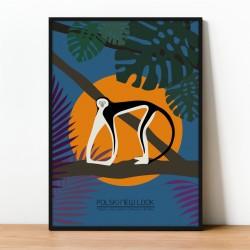 Plakat GIBON CZARNY